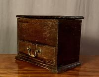Early Nineteenth Century Miniature Pine Mule Chest (6 of 8)
