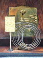 Interesting Quarter Striking German Bracket Clock by Junghans in Ebony Glazed Case (5 of 9)