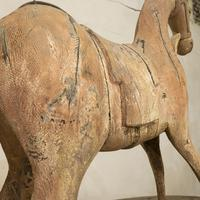 Large 19th Century Carved Indian Horse - Original Paint (2 of 14)