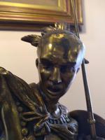 Bronze Warrior Torchere (8 of 12)