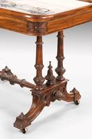 Hardwood Danish Basin Table from the Third Quarter of the 19th Century (5 of 7)