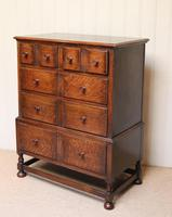 Solid Oak Chest of Drawers (9 of 10)