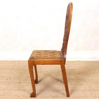 Carved Oak Eagle Chair (6 of 9)