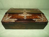 QUALITY Betjemann Coromandel Writing Box. 100% Original c1870 (8 of 15)