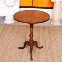 Georgian Tripod Table Tilt Top Mahogany