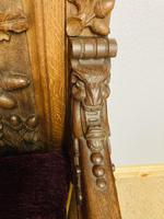 Gothic Revival Throne (9 of 20)