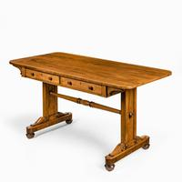 Late Regency Rosewood End Support Table Gillows or Holland & Sons (4 of 8)