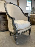 French Louis XVI Style High Back Chair (3 of 5)