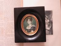 Miniature Portrait Josephine 1st Wife of Napoleon (6 of 6)