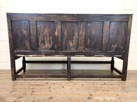 18th Century Panelled Oak Settle (9 of 10)