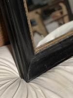 French Ebonised 19th Century Wall Mirror (7 of 16)