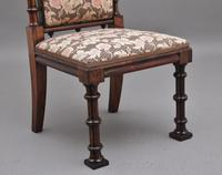 Early 19th Century Rosewood Chair in the Gothic Style (7 of 9)