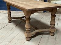 Deep Bleached Oak French Farmhouse Dining Table (18 of 20)