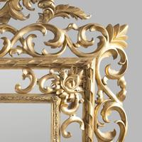 Large 19th Century Carved Giltwood Marginal Overmantle Mirror (15 of 16)