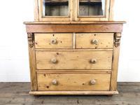 Antique Victorian Pine Dresser with Glazed Top (2 of 13)