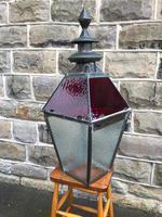 Antique Glazed Copper Lantern (5 of 8)
