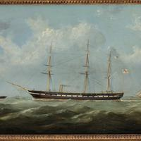 H.M.S. Topaze by George Mears (11 of 11)
