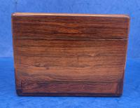 William IV Rosewood Jewellery Box Inlaid with Beautiful Mother of Pearl (5 of 14)