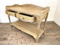 Large Rustic Pine Sideboard with Drawers (9 of 10)