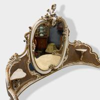 Italian Paint and Cane Dressing Table (7 of 8)