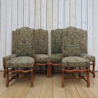 Set of Six Oak Os De Mouton Dining Chairs (9 of 9)