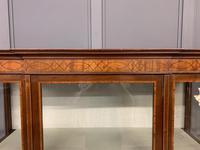 Edwardian Inlaid Mahogany & Satinwood Display Cabinet (4 of 12)