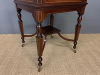 """Inlaid Mahogany """"Surprise"""" Drinks Table (12 of 15)"""