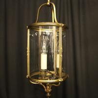 French Gilded Triple Light Antique Lantern (4 of 10)