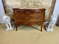 French 19th Century Kingwood Commode with Marble Top (4 of 6)