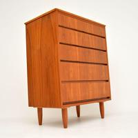 1960's Teak Vintage Chest of Drawers (3 of 10)