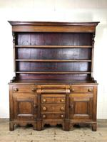Antique 19th Century Oak Dresser (4 of 16)