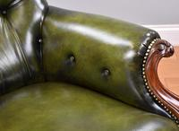 William IV Hand Dyed Leather Armchair (12 of 12)