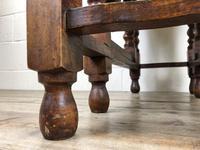 Early 20th Century Antique Oak Gateleg Table (5 of 8)