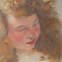 Hugo Ziegler, Study Of An Angel, Oil Painting (6 of 7)