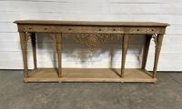 Wonderful French Walnut Console Table (16 of 36)