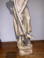 Large Terracotta Figure by Frederic Goldscheider (6 of 8)