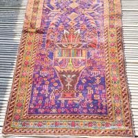 2.8m Long Antique Persian Runner Rug (8 of 10)