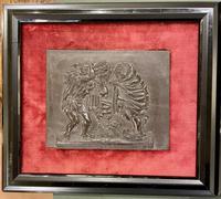 Interesting Set of Twelve Welsh Slate Hand-Carved Plaques (15 of 17)