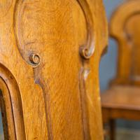 Pair of Victorian Hall Chairs (7 of 9)