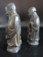 Pair of Late 18th or Early 19th Century Chinese Tomb Figures of Deities (3 of 5)