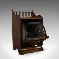 Antique Purdonium, English, Rosewood, Fireside, Cabinet, Edwardian c.1910 (11 of 11)
