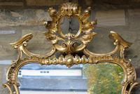 Stunning Twin Plate Rococo Mirror 19th Century (3 of 8)