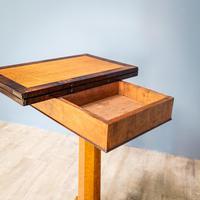 Bird's Eye Maple Folding Table (8 of 12)