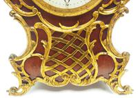 Wow! Phenomenal French Boulle Mantel Clock on Original Bracket 8 Day Mantle Clock (3 of 7)