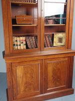 Antique George IV Mahogany 2 Door Cabinet Bookcase (9 of 13)
