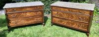 Matched Pair of 18th Century Mahogany Commodes (5 of 11)