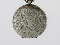 Silver Waltman Swiss Half Hunter  Pocket Watch 1900 (7 of 7)