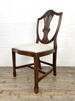 Set of Four 20th Century Mahogany Dining Chairs (6 of 10)