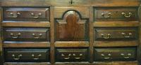 Beautiful 18th Century Georgian Period English Country Oak Mule Chest Sideboard Cabinet (12 of 19)