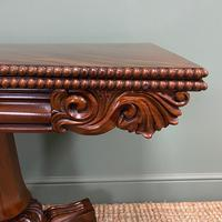 Fine Quality William IV Figured Mahogany Antique Card / Games Table (7 of 7)